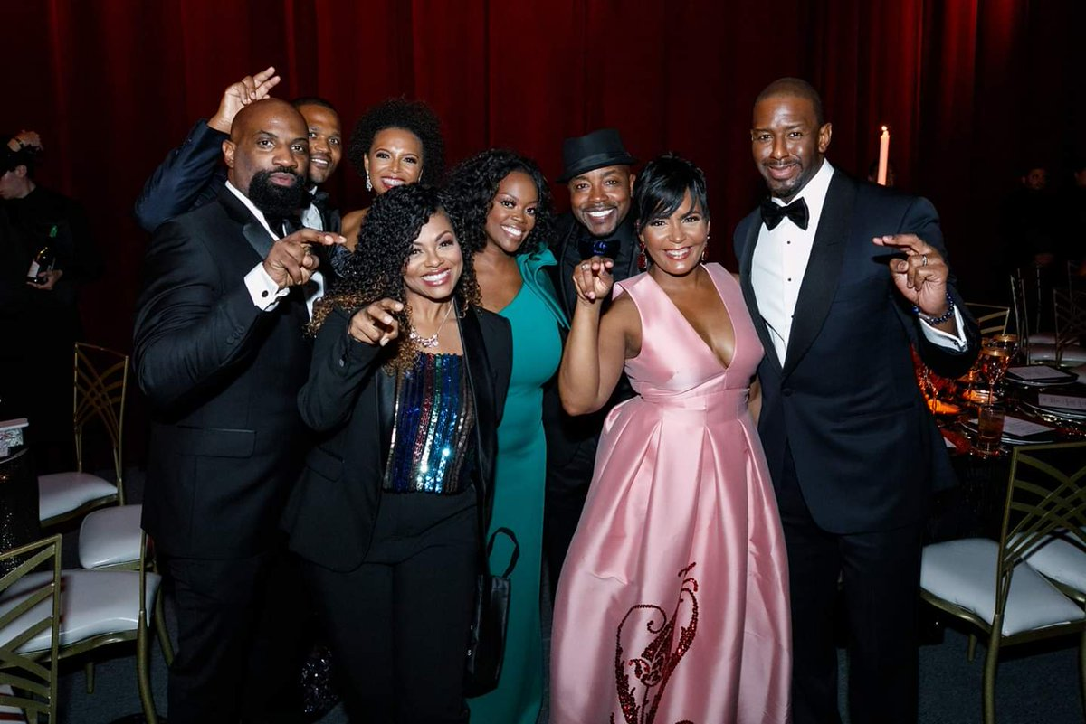 #MondayMotivation: FAMU alumni Producer @WillPowerPacker, @CityofAtlanta Mayor @KeishaBottoms, former @CityofTLH Mayor @AndrewGillum and wife R. Jai Gillum attend the Grand Opening of @TPstudios.