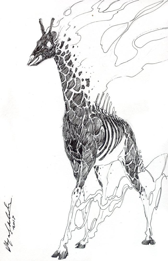 All the burning giraffes 🦒🔥 #dali