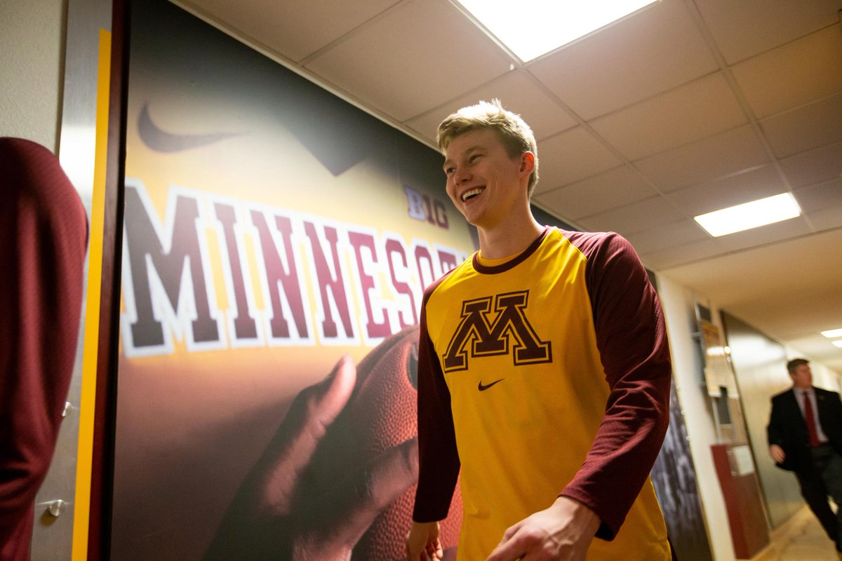 The Minnesota Gophers just released a video and in that video it was expressed by Coach Richard Pitino that Brady Rudrud is now on scholarship.  Congrats Brady!