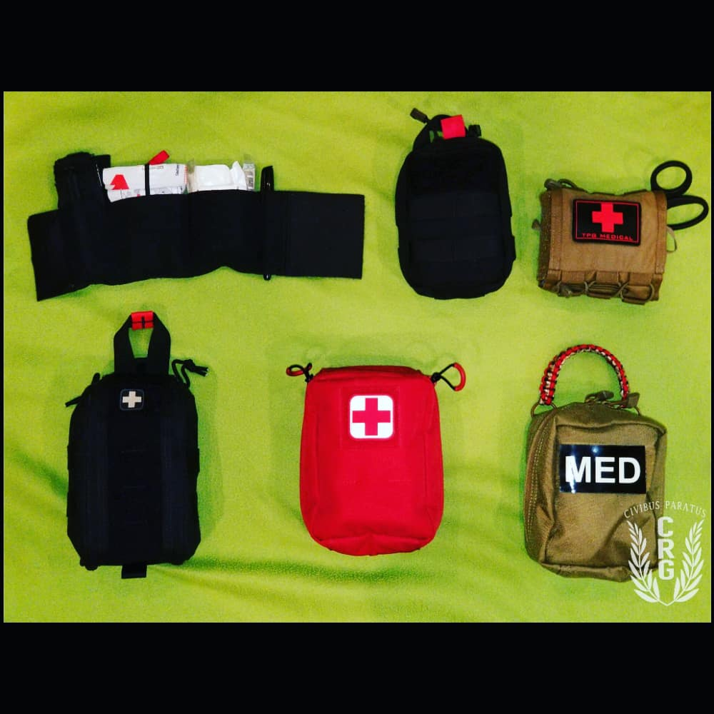 Medical Kits. Each uniquely designed to do one thing. Save lives  #TrainPrepareAct #firstcareprovider #medicalsupplies #medical #FCP #TECC #TCCC #tourniquet #ifak #everydaycarry #edc #MARCH #civilianmedical #citizenheroes #firstcare #firstaid #firstresponders #tactical #tacticool
