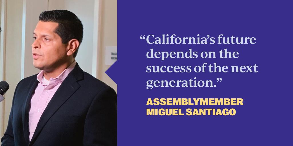 Born to hard-working immigrant parents, California Assemblymember @SantiagoAD53 serves in the state legislature to tackle homelessness, build affordable housing, and fought to make community college free. I'm honored to have his support in our fight. #HispanicHeritageMonth