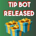 Image for the Tweet beginning: We recently added tip bot