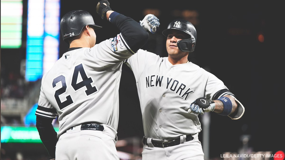 YANKEES SWEEP THE TWINS 🔥 This is their 5th division series sweep — the most in MLB history.