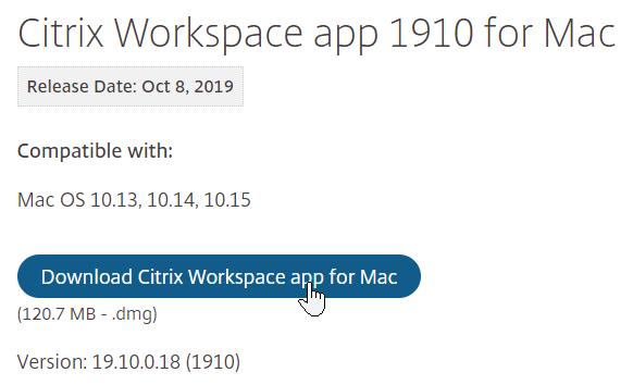 Citrix Workspace App Download For Mac Peatix