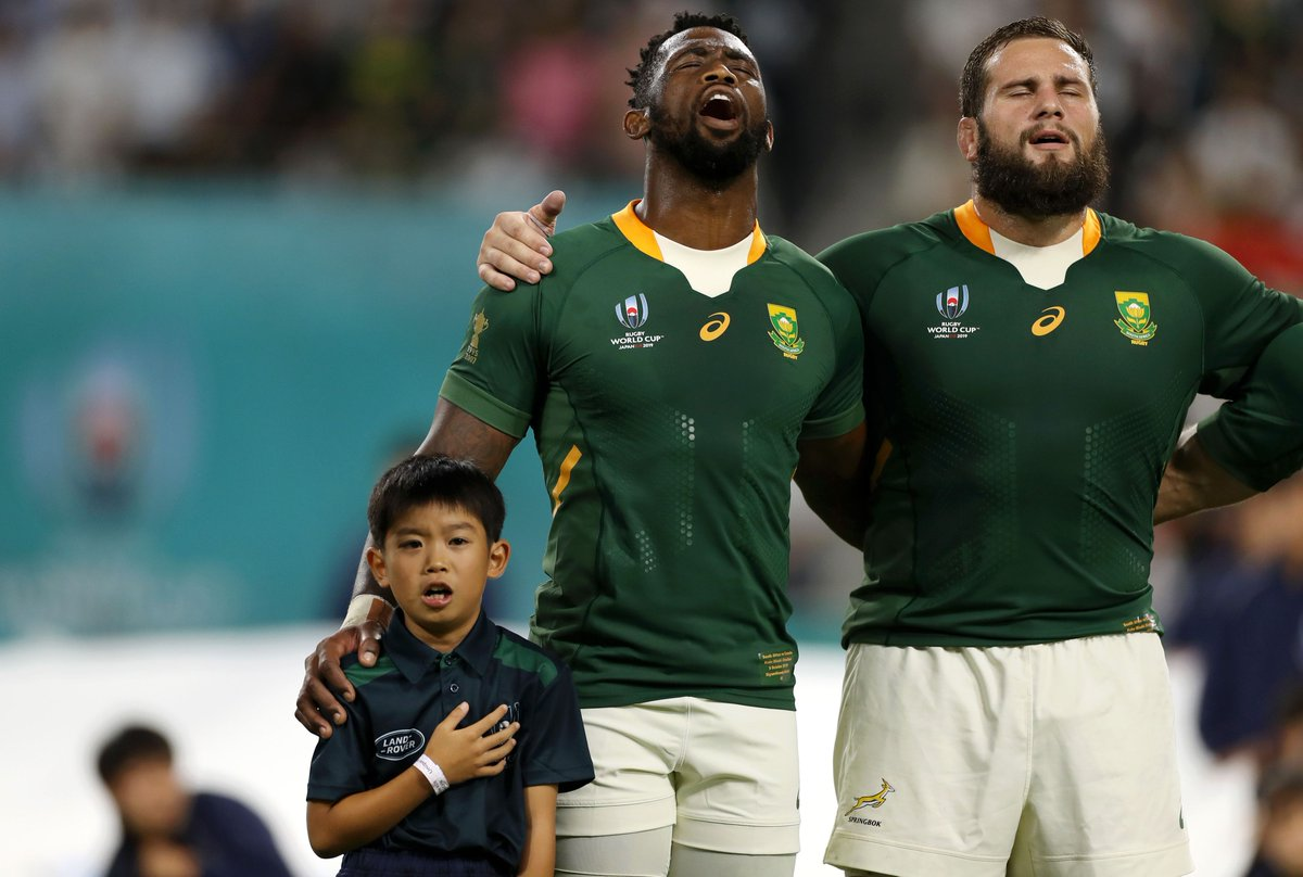 Congrats to the @Springboks who have qualified for the Quarter-Finals of the @rugbyworldcup. Well be keeping a close eye. 😉 #RWC2019