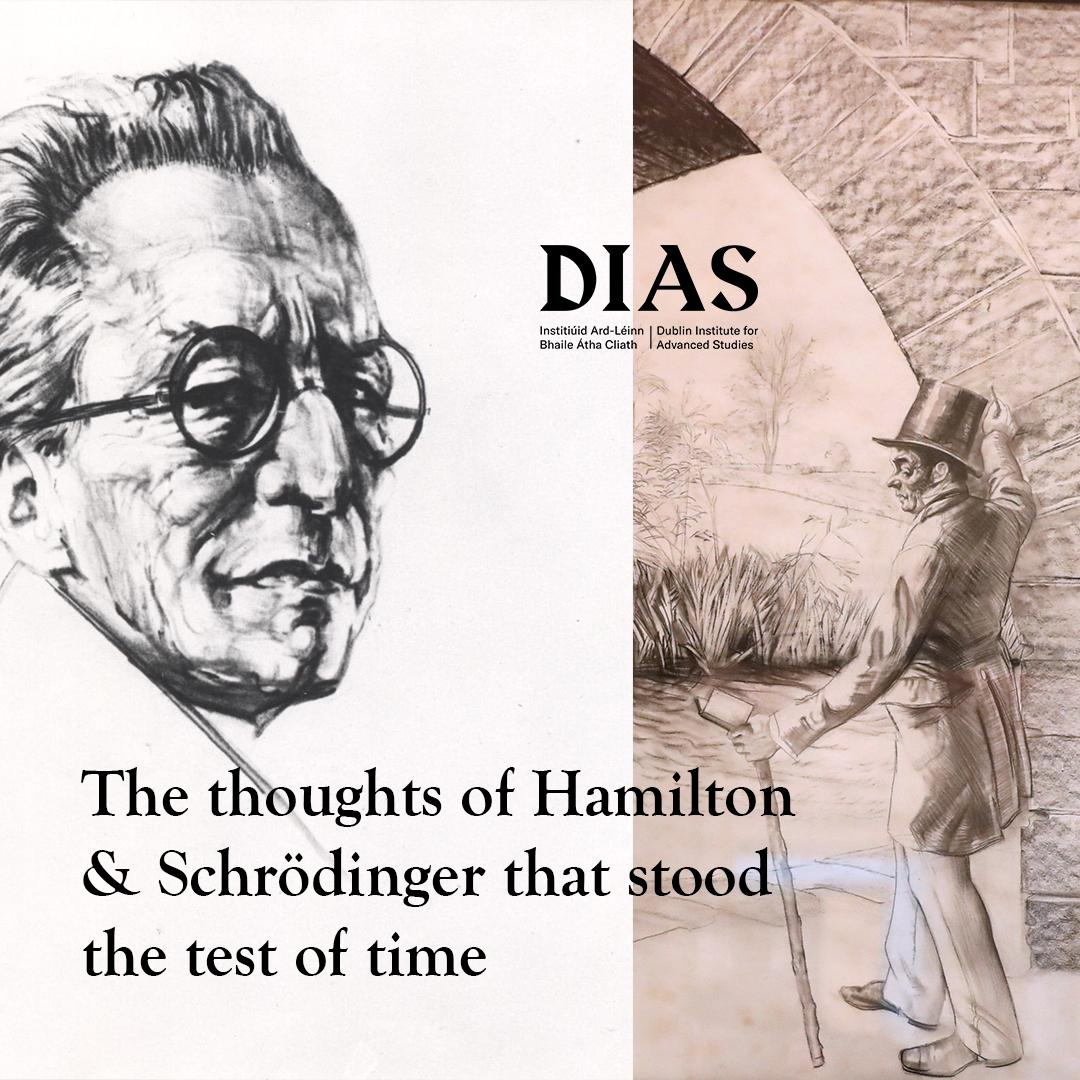 test Twitter Media - Our next @HistFest talk takes place this Thursday in Burlington road. This talk will delve into the thoughts of Hamilton & Schrödinger that stood the test of time. Only 15 seats remaining! https://t.co/48m3betq05  #DIASdiscovers https://t.co/By8QJSgysD