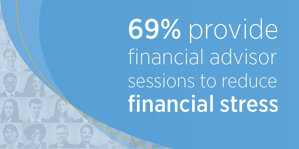 A growing number of employers are taking action to help employees reach financial health goals. See the report: bit.ly/33giT6G