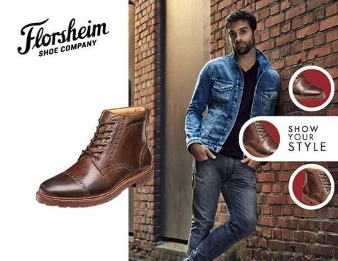 @brandysshoes .  ¿Quién dijo que no podías usar botas con tus jeans favorito? Marca tu propio estilo al caminar y crear un look único con las botas Florsheim.  #FlorsheimGT#Florsheim#Mens#LifeStyle#Fashion#MensWear#ModaGuatemala