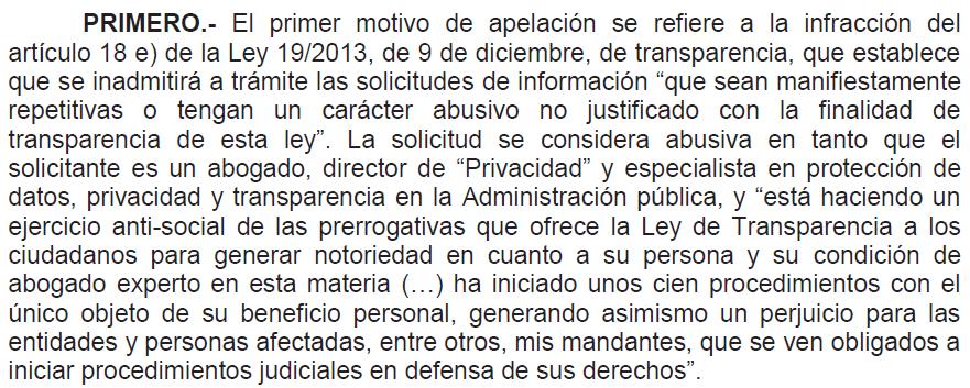 Alegaciones de RTVE en la Audiencia Nacional ante la solicitud de información pública por parte de un ciudadano