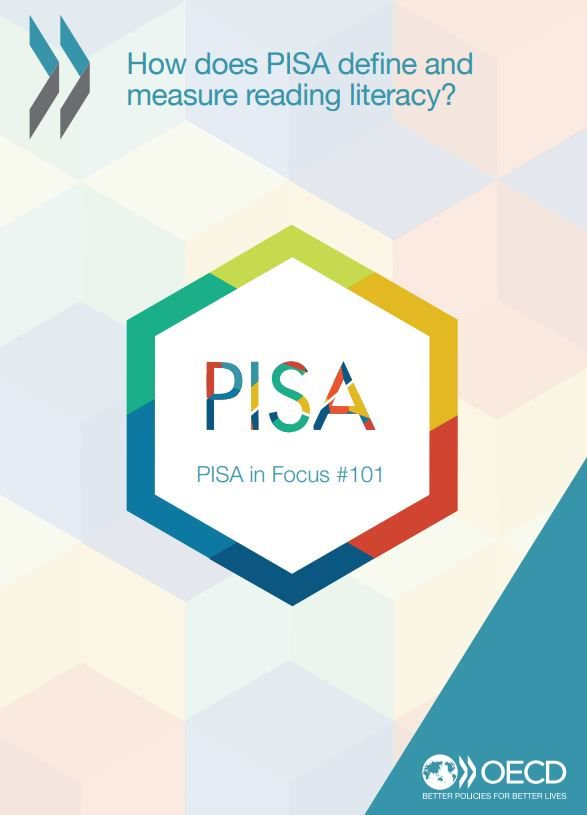 Read the latest issue of PISA in Focus: How does PISA define and measure reading literacy? 📚 ➡️ bit.ly/2VoTs0f #OECDPISA