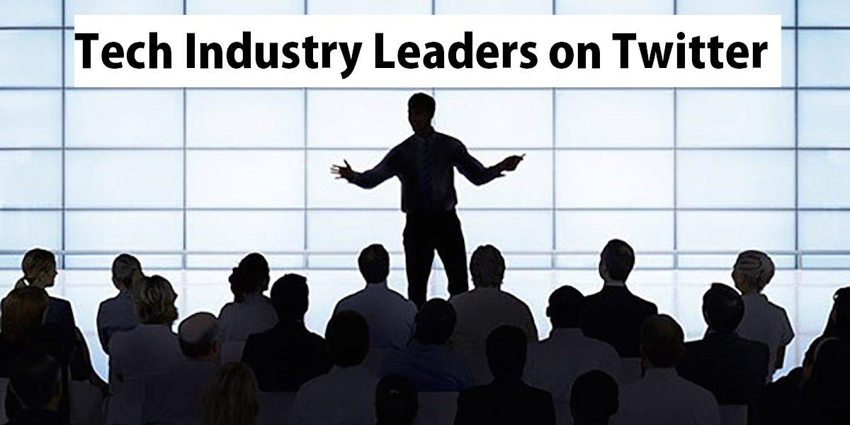 https://blog.electroica.com/top-tech-leaders-on-twitter/…#technology #leadership #influencers #industry #entreprenuers #startups #industry #techindustry