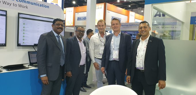 We are on the third day at #Gitex2019 - so many exciting meetings with...