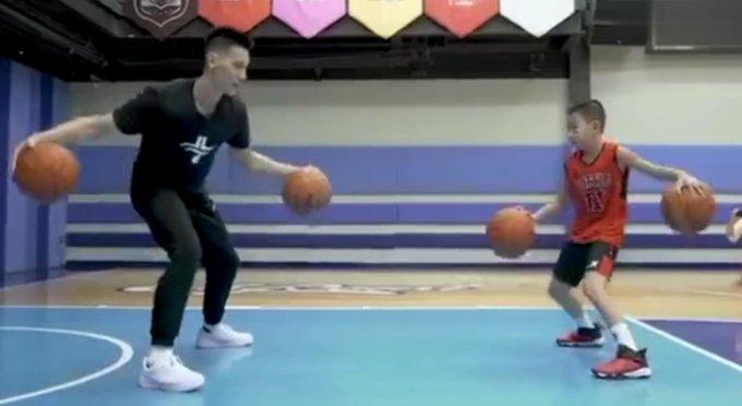 【影片】讓林書豪的讚歎的控球技術!這位小朋友的控球水平也太厲害啦