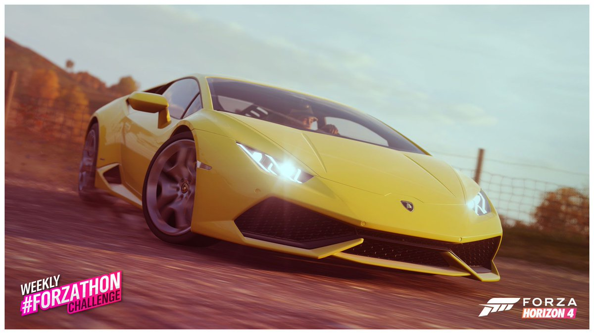 #ThrowbackTuesday all the way back to Horizon 2 by driving your Lamborghini Huracán & completing this weeks Seasonal Events! #ForzaHorizon4