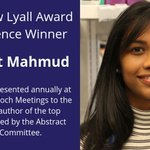 Image for the Tweet beginning: Congrats to Neemat Mahmud the
