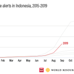 Image for the Tweet beginning: Indonesia's current #forestfires could have