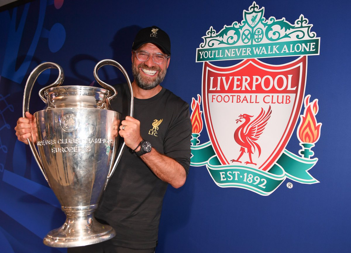 """UEFA Champions League on Twitter: """"#OTD in 2015, Jürgen Klopp was appointed  Liverpool manager. The rest is history.🏆 #UCL… """""""