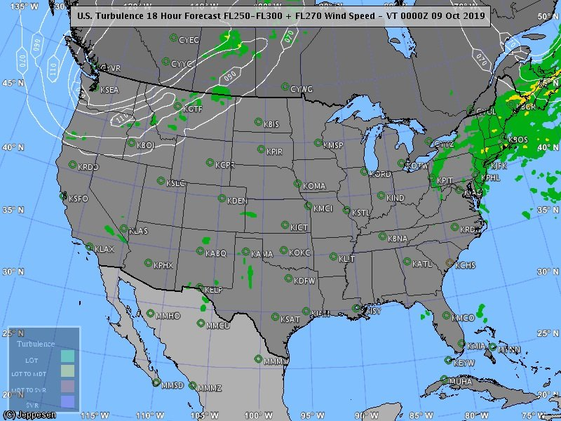 A bit bumpy today over the northeast & northwest at times. #turbulence