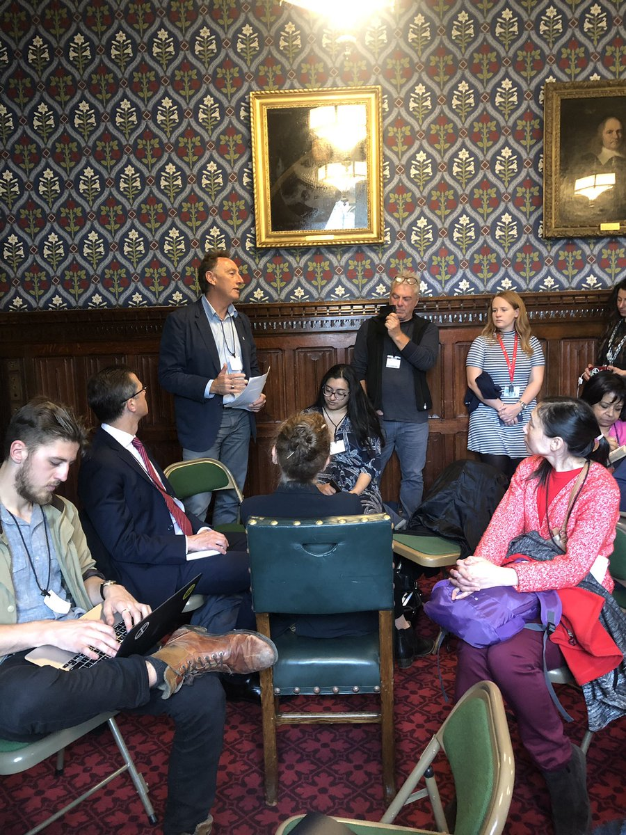 With the amazing @AndrewSimms_uk & so many others at @ExtinctionR #PeoplesAssembly in parliament's Jubilee Room Focussing on the #ClimateEmergency & the importance of telling the truth - a radical act these days This is what democracy looks like