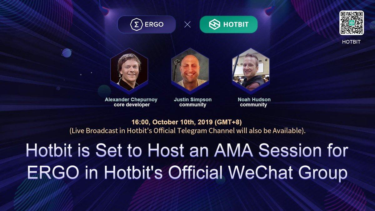 Hotbit AMA transcript https://t.co/cGux8xH3e6