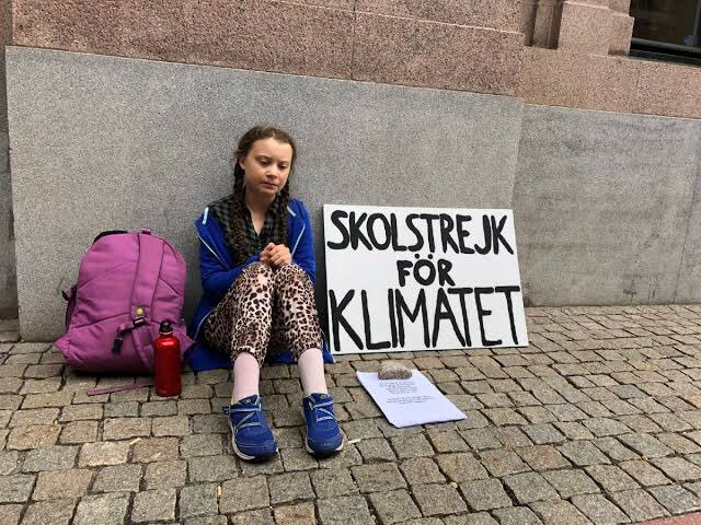 @netsy01 So true, Netsy! I feel a lot of hope when I see inspiring young people like Greta Thunberg. There she was a year ago, a single young voice, sitting outside the Swedish Parliament staging the 1st climate strike. 1 yr later, an estimated 1.4M, worldwide, many children, joined her.