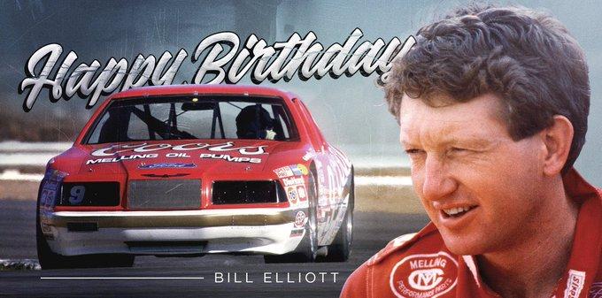 Happy Birthday Bill Elliott!