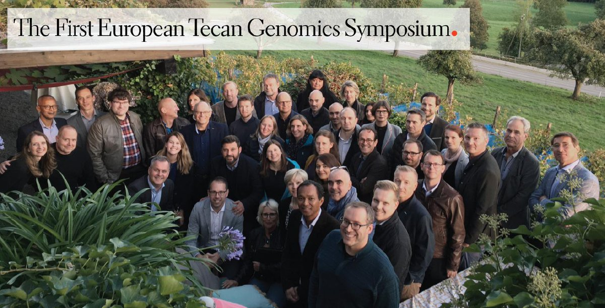 The first European Tecan Genomics Symposium is taking place today at our HQ in Männedorf, where Lab Automation was born almost 40 years ago. The agenda is full with insightful talks from respected thought leaders!   #weRtecan #genomics #labautomation #NGS #CRISPR #metagenomics