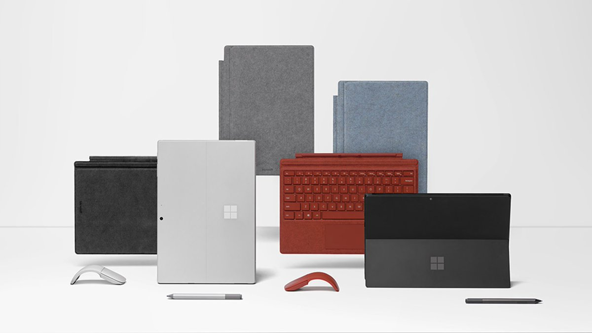 So many ways to make Surface Pro 7 yours, and all of them with USB-C. Pre-order yours, now. http://msft.social/v5g3Yo