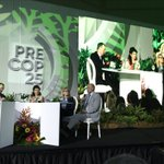 Image for the Tweet beginning: Min.Env. Rodriguez of Costa Rica