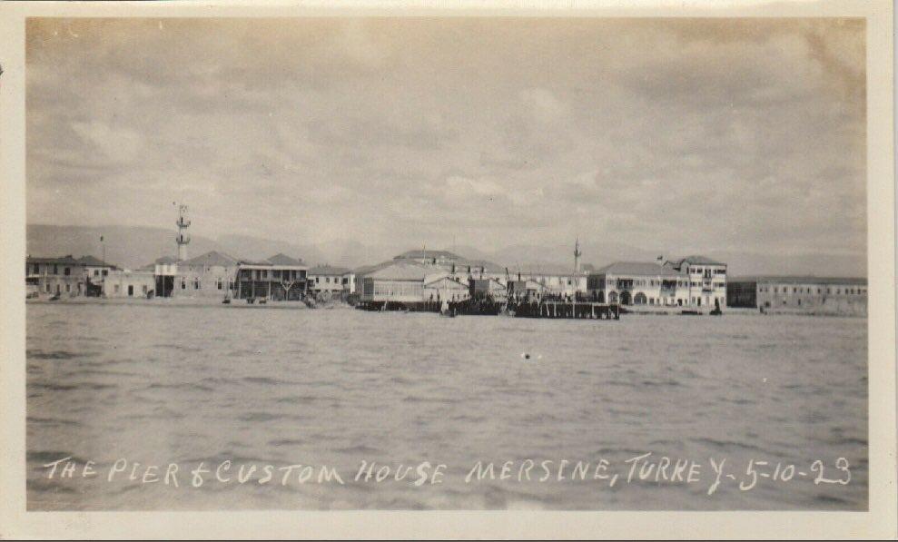 """Eski Mersin on Twitter: """"5.10.1923 Denizden #Mersin sahili..… """""""