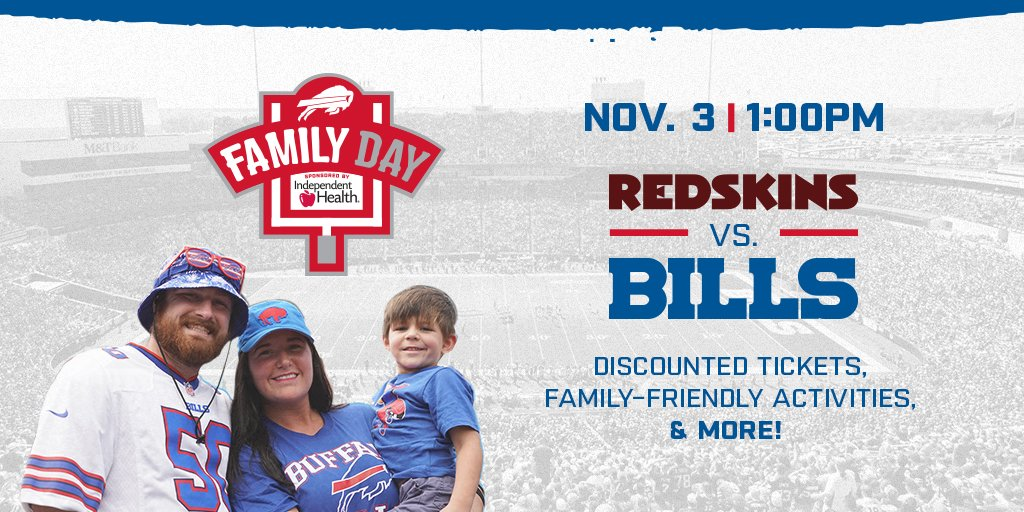 Fun for the whole family. You wont want to miss this: bufbills.co/famdaytw