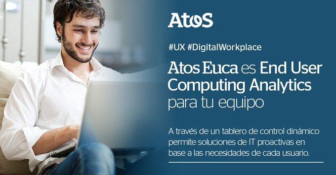 😎Con #AtosEUCA podés acceder a un tablero de control dinámico y brindar -de manera...