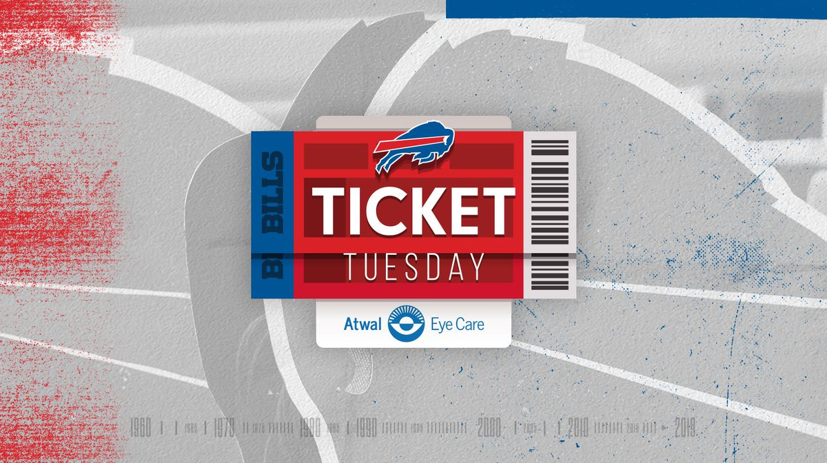 Its Ticket Tuesday. Enter for your chance to win two club tickets to the Bills next home game: bufbills.co/PollBq