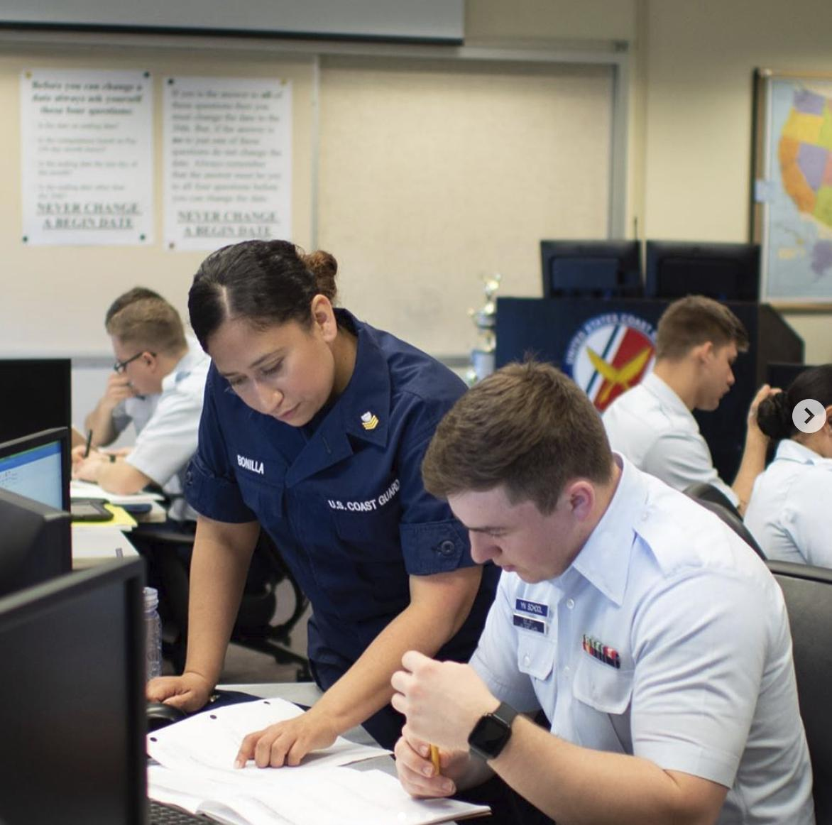 This #TravelTuesday takes us to #USCG Training Center Petaluma, home of culinary specialist, health services technician, storekeeper, yeoman, information systems technician, electronics technician, and operations specialist A Schools. Follow along: instagram.com/uscg