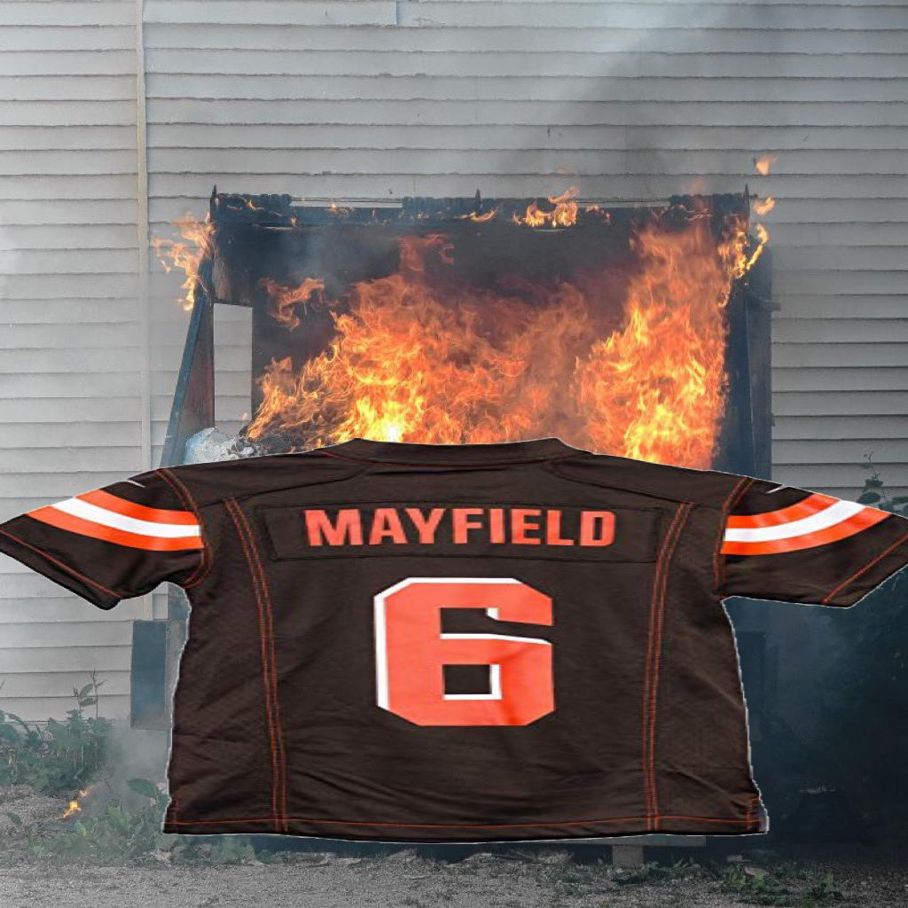 Let's go live to Baker Mayfield this morning...