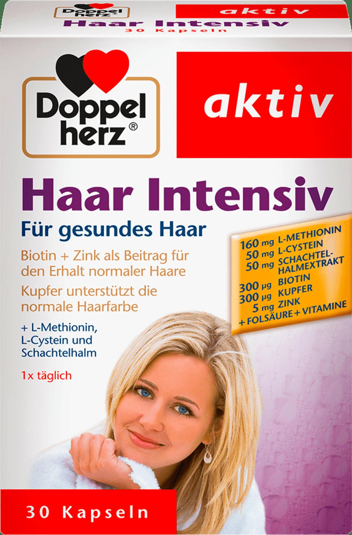 Details About Doppelherz Haar Intensiv Hair Dietary Supplement Health Care From Germany