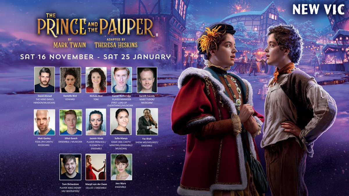 A Prince For Christmas Cast.New Vic Theatre On Twitter Welcome To Our Superb Cast For