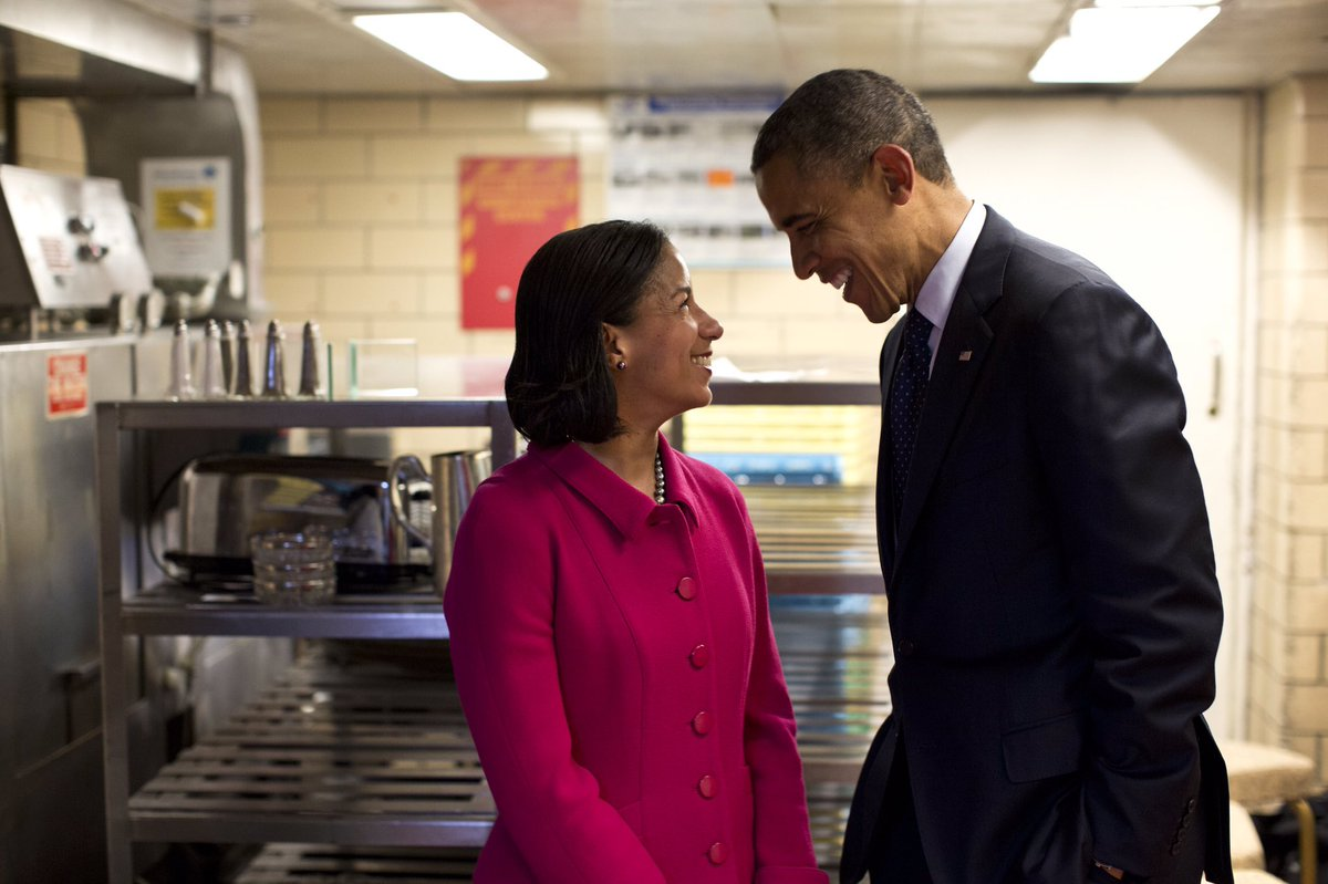 As President, I leaned on @AmbassadorRice's  experience, expertise, and willingness to tell me what I needed to hear. In her memoir, Tough Love, you'll see why. It's a tribute to American leadership—and a unifying call for us to do our part to protect it. I hope you'll read it.