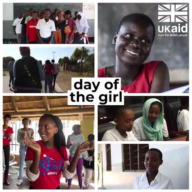 Happy #InternationalDayoftheGirl! Retweet if you too are committed to empowering girls to stand up for their rights! #DayoftheGirl #IDG2019