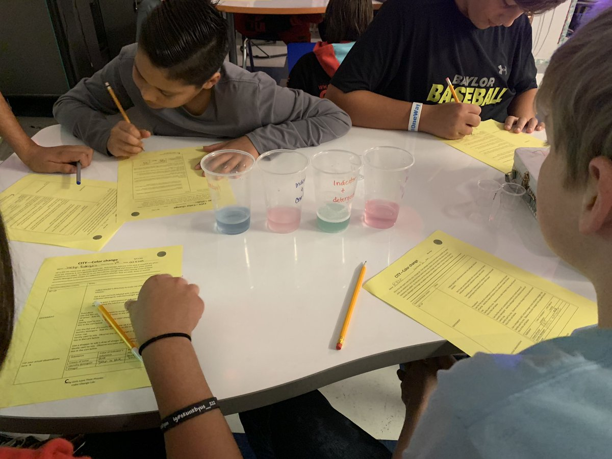 Color change lab today #CityGirlsLoveTheirPhones #ourWHY @chinaspringMS