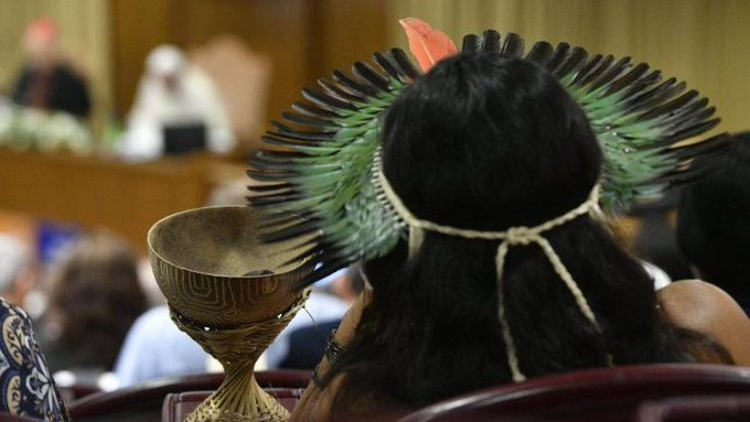 Indígenas en el Sínodo