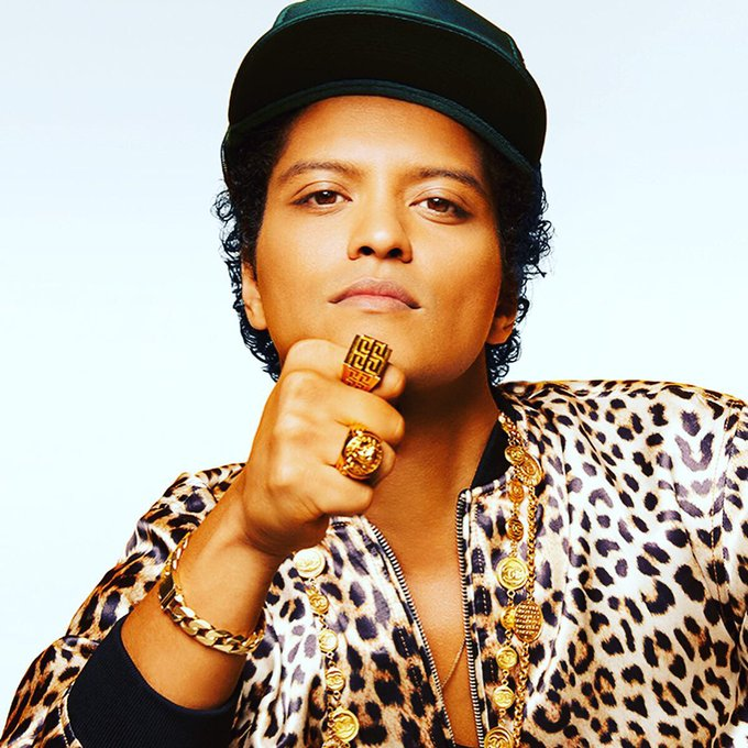 Happy Birthday to Mr. Bruno Mars May God Bless You Many More Years.