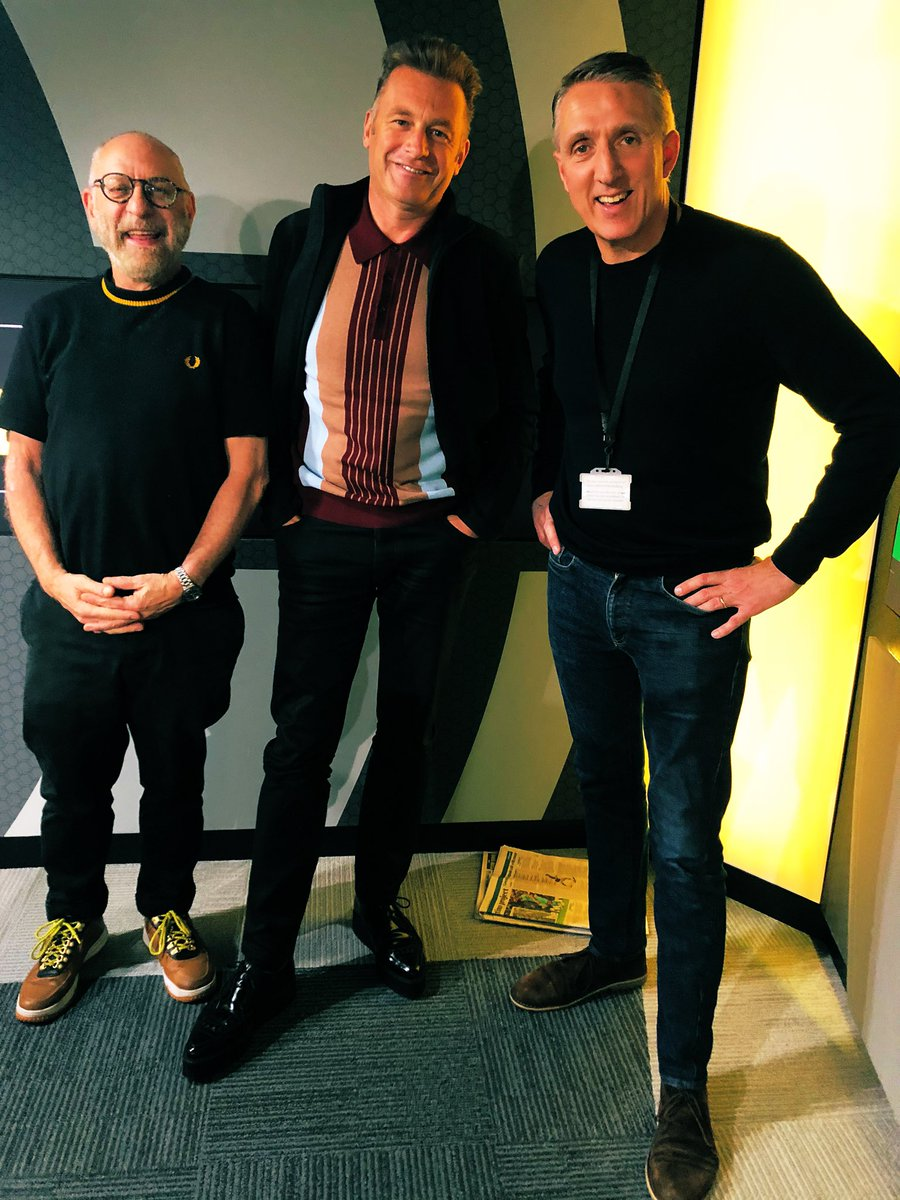 Great day with @SmartEnergyGB today at @talkSPORT #TheMissingPiece