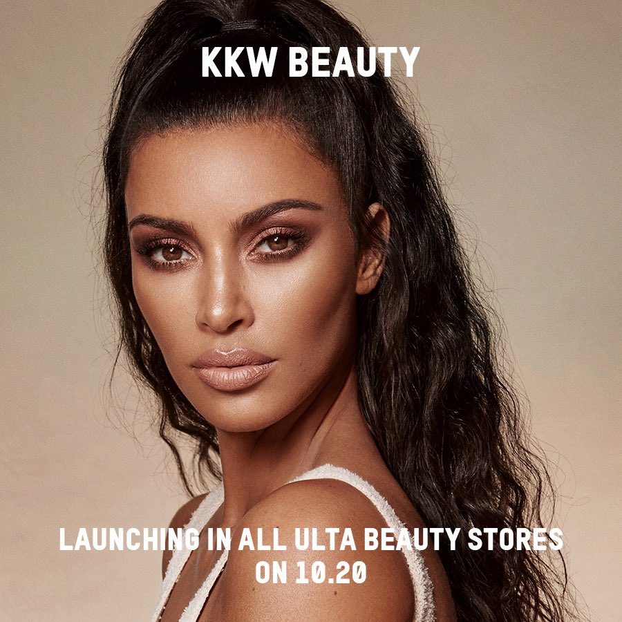 We are so excited for you to shop @kkwbeauty  in all @ultabeauty  stores on October 20th! #KKWBEAUTY