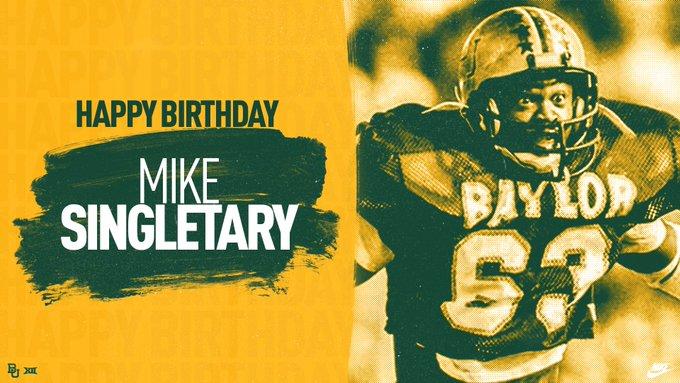 Happy birthday to HOF LB, Mike Singletary