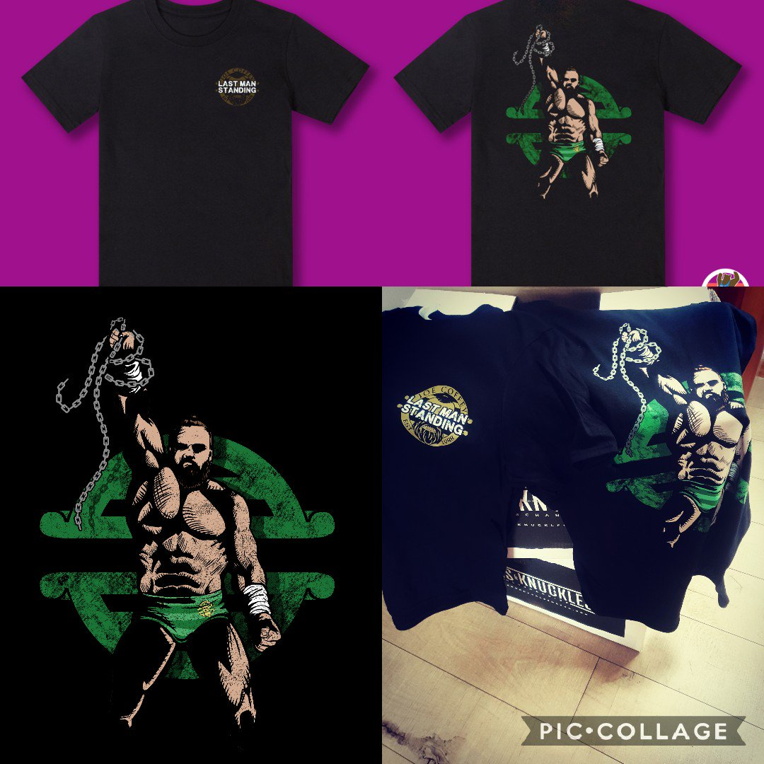 ***Last Man Standing***TEES NOW AVALIABLE FROMhttps://joecoffey88.bigcartel.com/productsALL Pre Orders shall be shipped tomorrow.🌍🌎🌏