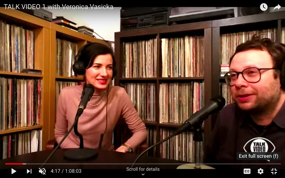 My friend Will Burnett (aka @dj_speculator) recently launched an interview series called TALK VIDEO in conjunction with @thelotradio. I am honored to be the first person he chose to interview. Check it out here, youtube.com/watch?v=YQGFlR… #talkvideo #veronicavasicka #willburnett