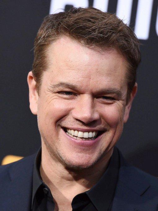 Happy birthday today to Matt Damon.