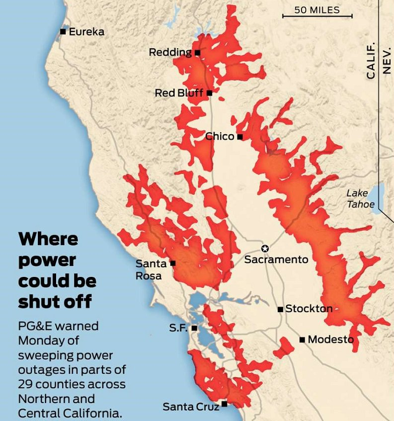 @sfchronicle's photo on pg & e