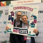Image for the Tweet beginning: Our friends from @broadbent supporting